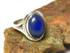 Lapis Lazuli Statement Sterling Silver Fine Rings