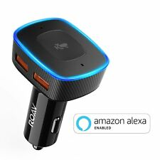 Roav VIVA, Alexa Enabled 2-Port USB Car Charger for In-Vehicle Navigation