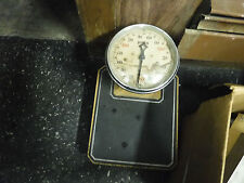 Vtg Antique Scale Detecto Lowboy 300 Pound Round Dial U.S.A Art Deco Bathroom