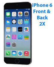 2 Pack Apple iPhone 6 4.7 Front & Back Clear Screen Protector Guard Films