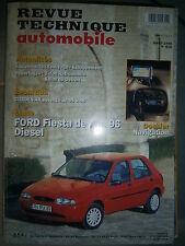 Ford FIESTA COURRIER diesel depuis 1996 : revue technique RTA 615