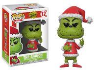 "New Pop Books: The Grinch - Santa Grinch 3.75"" Funko Vinyl COLLECTIBLE"