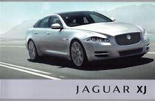 Jaguar XJ XJ6 XJ8 3.0 5.0 2011 2012 brochure luxe Premium Portefeuille Supersport