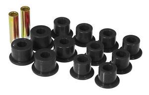Prothane Rear Spring Eye & Shackle Bushing Kit For Nissan D21 D22 86-04 2WD BLK