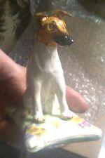 Vintage English DOG,Smooth Fox /Parson Jack Russel Terrier Basil Matthews figure