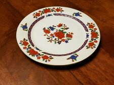 Crown Ming Old Imari Porcelain China Salad Bread Plate 7 1/2""