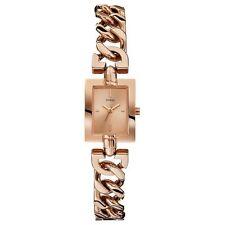 Relojes de pulsera de oro rosa resistente al agua para mujer