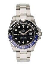 Rolex GMT Master II 116710 Batman Mens Watch