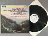 L412 Schubert Piano Trio Oppitz Sitkovetzky Novalis 150 003-1 Digital Stereo