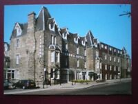 POSTCARD PERTHSHIRE FISHER'S HOTEL - ATHOLL ROAD  - PITLOCHRY