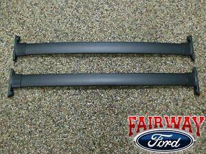 05 06 07 Explorer OEM Genuine Ford Black Roof Rack Cross Bar Set 2-piece NEW