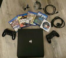 Sony PlayStation 4 Pro 1TB mit 2 Controllern und 5 Spielen