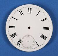 Taschenuhr Zifferblatt EMAIL TASCHENUHRZIFFERBLATT D45,5 f Uhr pocket watch dial