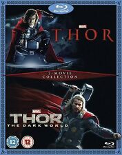 Thor & Thor: The Dark World - 2 Movie Collection [Blu-ray Box Set, Region Free]