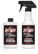 RAT WAX  - Matte Finish SOAP & DETAILER  Kit for Rods & Kustoms, matte paint