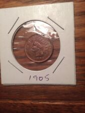 INDIAN CENT VERY HIGH GRADE 1905 PENNY
