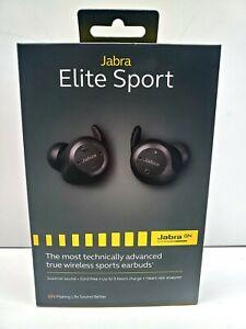 Jabra Elite Sport Wireless In-ear Headphones - Black