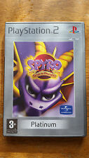 SPYRO Enter the Dragonfly - Platinum - Sony PlayStation 2 - PS2 - Complete