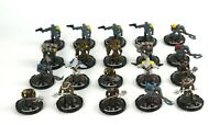 Mage Knight STEAMPUNK MINIATURE LOT x20 D&D Minis Dungeons Black Powder Rebels 6