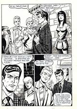 FLASH ESPIONNAGE PLANCHE ORIGINALE AREDIT PAGE 18