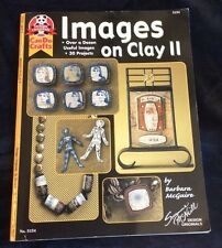 "IMAGES ON CLAY II - Can do Crafts"" Magazine Suzanne McNeill #5154, Year 2002"
