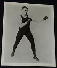 1950-1960's - BOXER - BILL BRENNAN - 8x10 - BOXING PHOTO - ORIGINAL