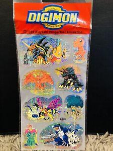 DIGIMON Stickers 1999 VERY RARE Hongo/Toei Animation