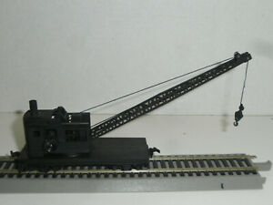 HO UNBranded UN-Lettered 25 Ton operating Crane Car, used, RTR