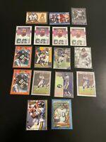 Cris Carter 17 Card Lot 1989 Topps RC + More Minnesota Vikings Box1