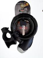 Cavo e Lucchetto Bloccaggio Antifurto per Bici 12x1000 mm Garage Box Officine