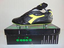 Vintage 80 90 DIADORA Magic 10 SC 42 Scarpe Calcio 8 Baggio Boots Juve 6 Studs