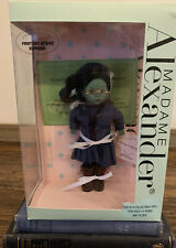 WICKED MADAME ALEXANDER Elphaba First Day at Shiz doll-new in box