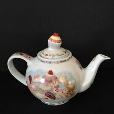 Cardew Design Cupcakes Teapot Cookies 2-Cup Teapot New In box 18oz England