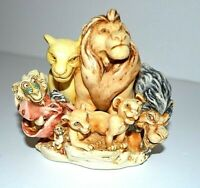 DISNEY Rare 1997 Harmony Kingdom Lion King Pride Rock  ' LE FIGURINE