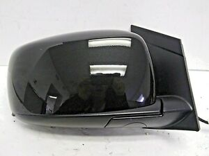 2017-2020 DODGE GRAND CARAVAN RH PASSENGER SD DOOR MIRROR BRILLIANT BLACK OEM