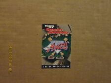 MLB Anaheim Angels Vintage 1997 Team Logo Baseball Pocket Schedule