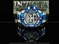 Invicta Men 63mm Retro JOKER Grand Octane Arsenal Swiss Chrono Blue TT SS Watch