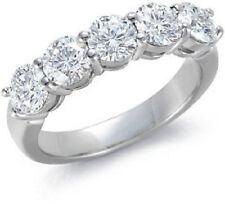 Excellent Cut Round Eternity Fine Diamond Rings