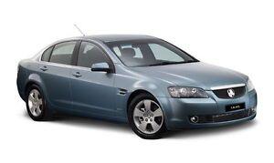 Unpainted Boot Lip Spoiler for Holden VE CALAIS 2005-13 - Matte Black