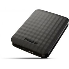 Maxtor M3 500 GB USB 3.0 Slimline Portable Hard Drive Black