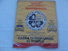 DISCO ORARIO CALENDARIO PERPETUO VINTAGE AUTO D'EPOCA FIAT LANCIA ALFA ROMEO