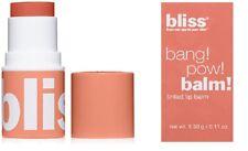 Bliss Bang Pow Balm Tinted Lip Balm - Show Me The Honey - Fs New Boxed