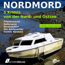 XXL Hörbuch Paket NORDMORD | 5 Krimis von Nord- u. Ostsee | 32 Stunden | mp3-DVD