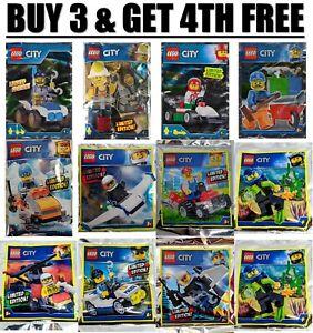 ORIGINAL LEGO CITY & HIDDEN SIDE Limited Edition Minifigure - Foil Pack Polybag