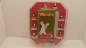 rare ancien coffret de 10 Fèves Droopy régional - tex avery - bd -