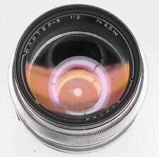 Jupiter-9 8.5cm f2 Contax RF mount   #600139