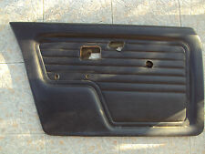 BMW e30 SEDAN  1983-1991 black door panels good condition FRONT LEFT door