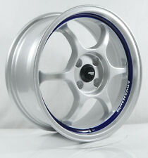 4pcs ADVAN RACING RG1 16 inch Mag Wheel Rim 4X100 4X114.3 5X114.3 Alloy rim YH47