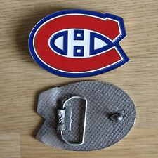 Canadiens Montreal hockey belt buckle (choice colors)