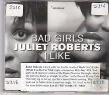 (BU309) Juliet Roberts, Bad Girls / I Like - DJ CD